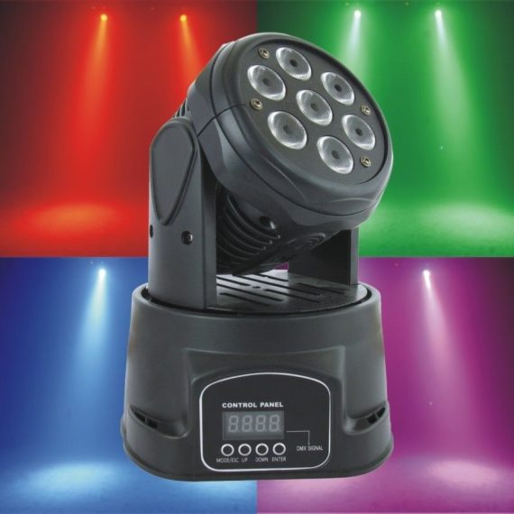 Professional Show Lighting Mini LED Moving Head Wash