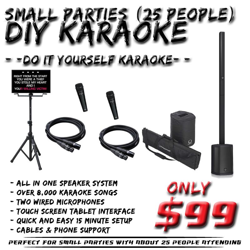 DIY Karaoke Rental