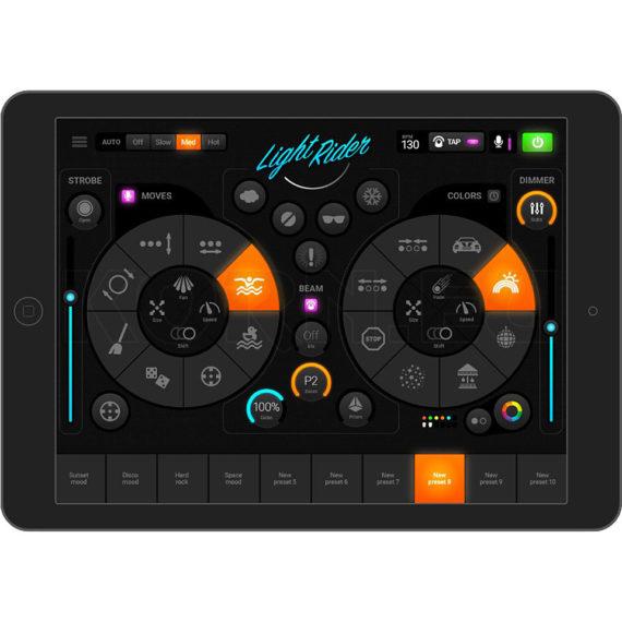 DMX Lighting Tablet